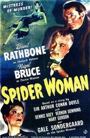 The Spider Woman - 1943 US theatrical poster