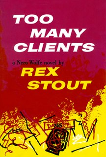 <i>Too Many Clients</i> book by Rex Stout