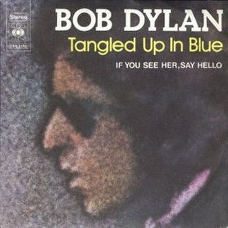 Tangled Up in Blue - Image: Tangled Up in Blue Cover