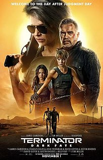 <i>Terminator: Dark Fate</i> 2019 American science-fiction action film by Tim Miller