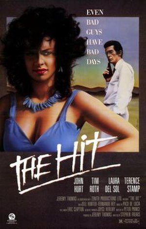 The Hit (1984 film) - Theatrical release poster