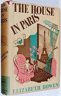 <i>The House in Paris</i> novel by Elizabeth Bowen