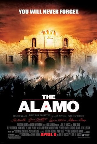 The Alamo (2004 film) - Theatrical release poster