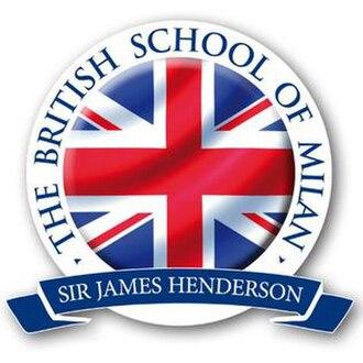 The British School of Milan - Image: The British School of Milan Logo