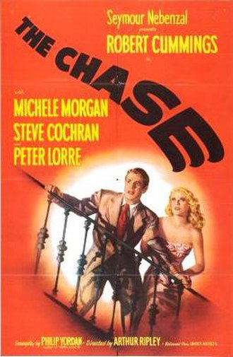 The Chase (1946 film) - Theatrical release poster