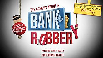 The Comedy About a Bank Robbery - Image: The Comedy About a Bank Robbery