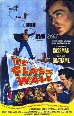 The Glass Wall - Theatrical release poster