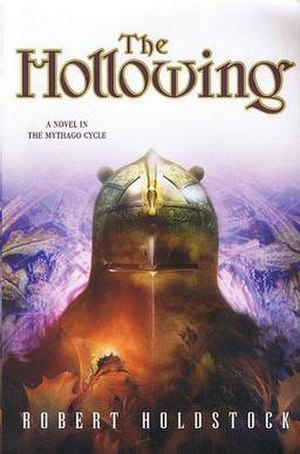 The Hollowing - A 2003 paperback edition of The Hollowing with cover art by Larry Rostant