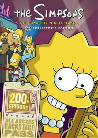 The Simpsons (season 9) - DVD cover