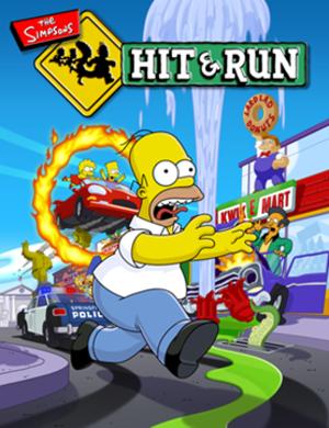 The Simpsons: Hit & Run - North American box art