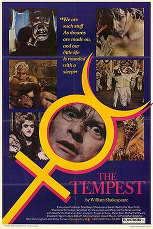 The Tempest (1979 film) - Theatrical release poster