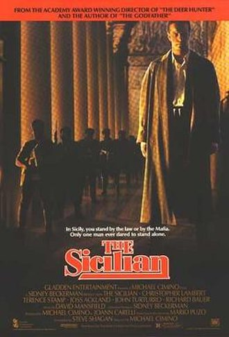 The Sicilian (film) - Theatrical release poster