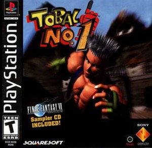 Tobal No. 1 - North American cover art
