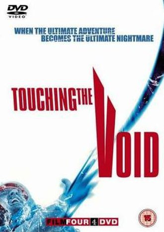 Touching the Void (film) - Region 2 DVD cover