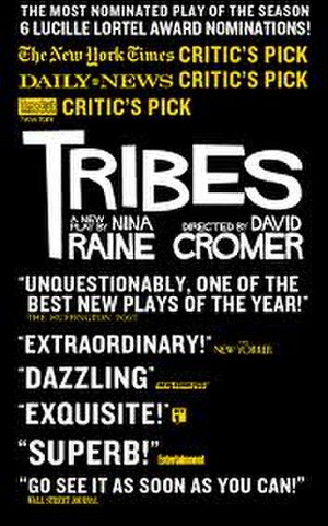 Tribes (play) - Theatrical poster for NYC production