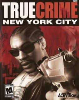 <i>True Crime: New York City</i> 2005 video game