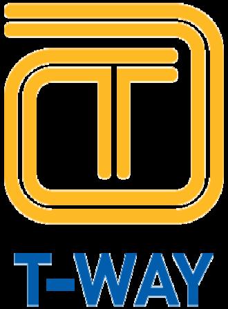 North-West T-way - Image: Tway logo