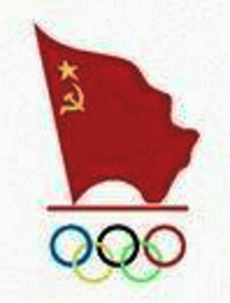 Soviet Union at the Olympics - NOC symbol of the USSR