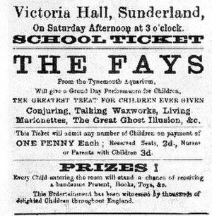 Victoria Hall stampede - Image: Victoria hall disaster