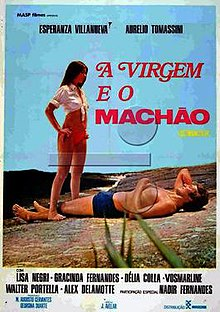Resultado de imagem para a virgem e o machão 1974