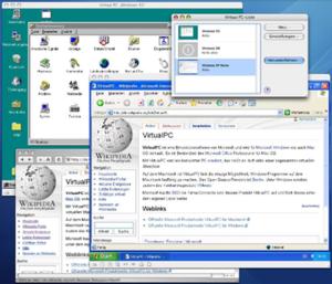 Windows Virtual PC - Virtual PC 6.1 for Macintosh