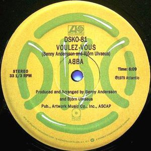 Voulez-Vous (song) - Image: Voulez Vous 12 in