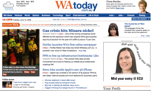 WAtoday - Image: W Atoday edition