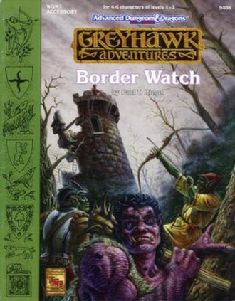Border Watch - Image: WGM1Border Watch Cover