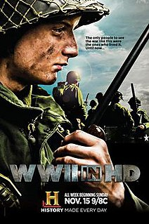 <i>WWII in HD</i> film
