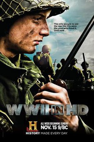 WWII in HD - Promotional poster