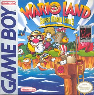 Wario Land: Super Mario Land 3 - North American box art
