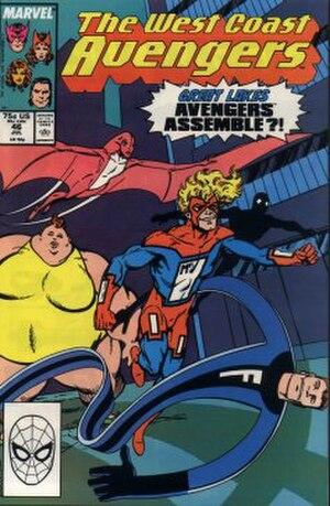 Great Lakes Avengers - Image: West Coast Avengers 46