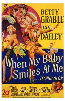 Image result for when my baby smiles at me 1948