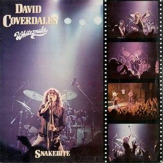Snakebite (album) - Image: Whitesnake 1978 Snakebite (european cover) 1