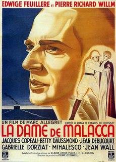 <i>Woman of Malacca</i> 1937 film by Marc Allégret