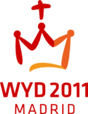 World Youth Day 2011 - Image: World Youth Days 2011 Madrid Logo