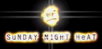 WWE Heat - Sunday Night Heat logo used from August 2, 1998 to September 24, 2000