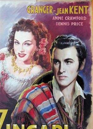 Caravan (1946 film) - Detail from Italian poster
