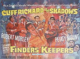 <i>Finders Keepers</i> (1966 film) 1966 film by Sidney Hayers