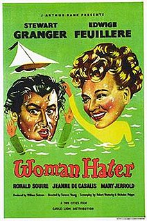 <i>Woman Hater</i> (1948 film) 1948 British film directed by Terence Young