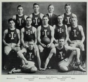 1909–10 Illinois Fighting Illini men's basketball team - Image: 1909 10 University of Illinois Fighting Illini men's basketball team