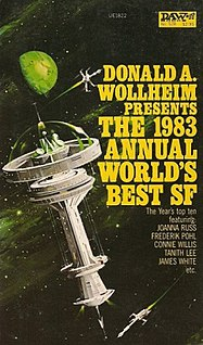 <i>The 1983 Annual Worlds Best SF</i> book by Donald A. Wollheim