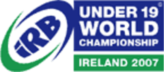 2007 Under 19 Rugby World Championship - Image: 2007 U19 Rugby World Championship logo