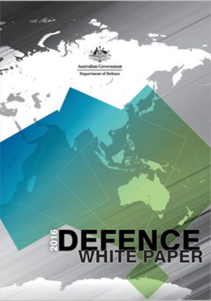 2016 Defence White Paper - Published front cover