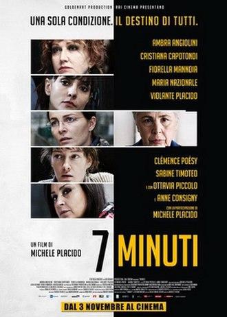 7 Minutes (2016 film) - Image: 7 minuti michele placido poster