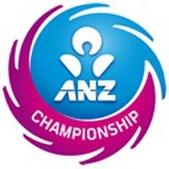 ANZ Championship - Image: ANZ Championship logo 2010