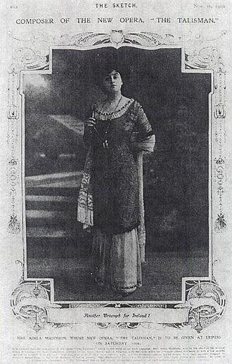 Adela Maddison - Adela Maddison in The Sketch, 1910