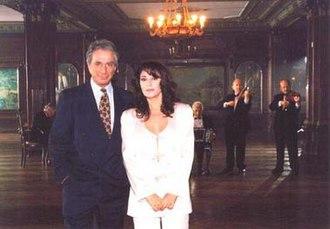 Al Corazón - Narrators of the film Enrique Cadícamo and Adriana Varela