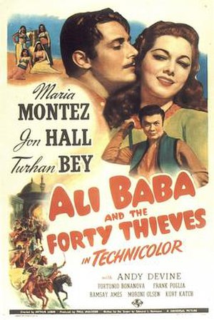 Ali Baba and the Forty Thieves (1944 film) - Image: Ali baba 1944