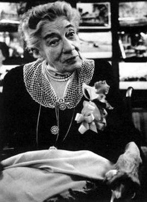 Alice Austen - Austen in Richmondtown, Staten Island on October 9, 1951, for her photo exhibition